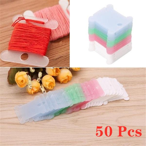 paper 50 Embroidery Thread Bobbins