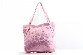pink, Fashion, Totes, Kitty