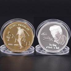 Joyería, gold, collectioncoin, Elvis
