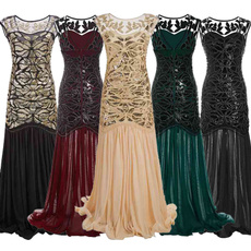 Sleeveless dress, promgown, ruffle, vestidoslongo