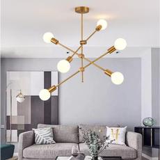 Modern, led, fixturelamp, lustre