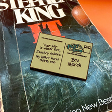 stephenking, Jewelry, Pins, pennywisepin