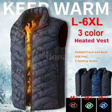 Vest, Fashion, Electric, electricheatedjacket
