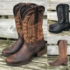 vintageboot, midcalfboot, Leather Boots, Winter