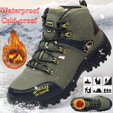 Outdoor, Leather Boots, Winter, Hiking