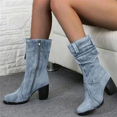 Fashion, Winter, Womens Shoes, Cowboy