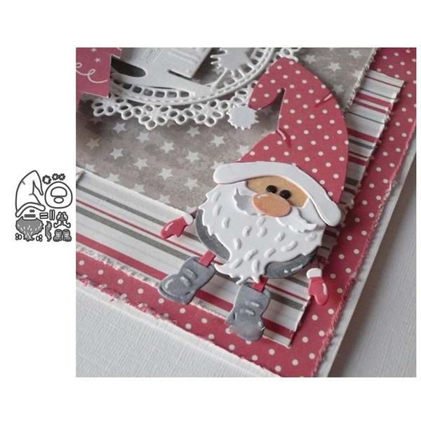 diesscrapbooking, Santa Claus, cuttingdie, Metal