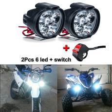 led, motorcycleworklight, lights, Scooter