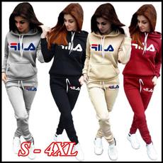 Fashion, womens hoodie, Sleeve, Long pants