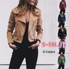Slim Fit, chaquetasdemujer, leather, zippers
