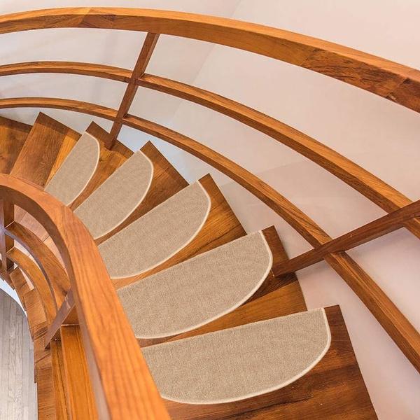 1 2pcs Stair Treads Carpet Rubber Backing Mats Non Slip Floor Staircase Rug