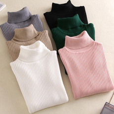 knitted, Moda, furrytop, Long Sleeve