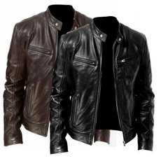 motorcyclejacket, men coat, Fashion, Winter