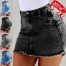 Shorts, Dress, Slim Fit, short skirt