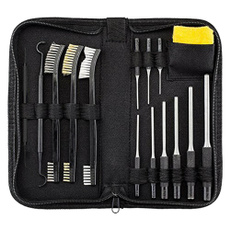 Xage 9 Pieces Roll Pin Punch Set and 4 Pieces Hollow End Starter Punch Tool w...