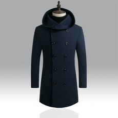 casual coat, Slim Fit, Winter, cheapwoolcoat