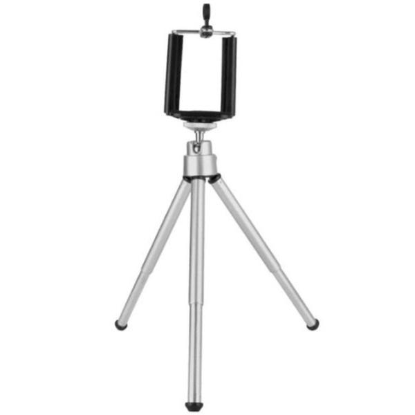 Mini Tripé Universal Com Suporte Para Celular Câmera GPS MTG-019 ...