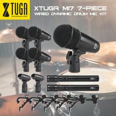 Microphone, drummicrophone, wiredmicrophone, drumset
