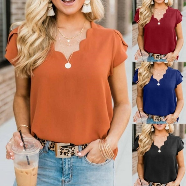 blouse, Summer, Plus Size, Fashion
