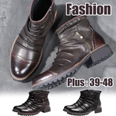 ankle boots, Fashion, leather, Mens Boots