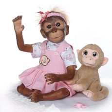 Toy, monkey, Gifts, doll