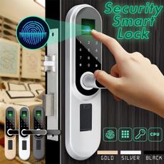 fingerprintunlock, Door, doorlock, homesecurity