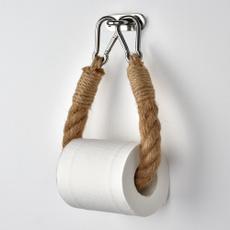 toiletpaperholder, Baño, towelhangingrope, bathroomdecor