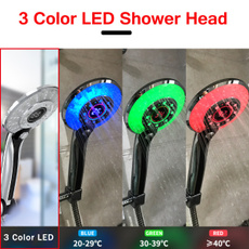 ledshower, Head, digitaldisplay, ledshowerhead