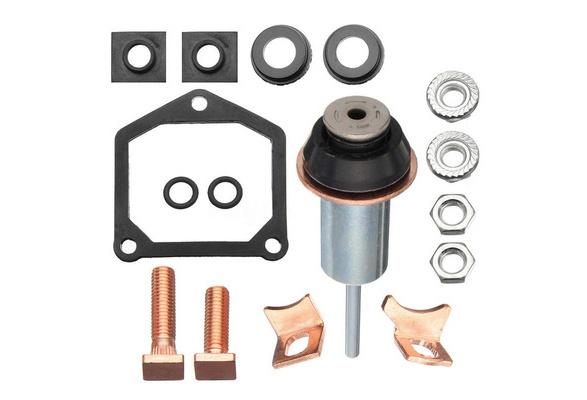 Qiilu Starter Soleniod Rebuild Repair Contact Kit for Toyota Subaru