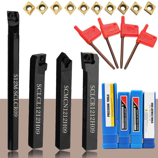 CCMT09T304  #! S12M-SCLCR09 SCLCR//SCLCL//SCMCN1212H09 Lathe Holder Boring Bar