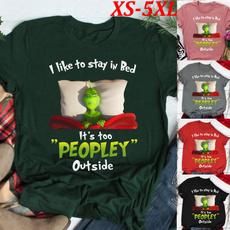 lettersprint, Funny, grinchchristmasshirt, Christmas