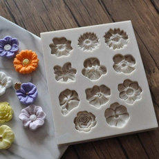 Decor, Flowers, Silicone, Rose