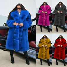 fur coat, Plus Size, parkajacket, Winter
