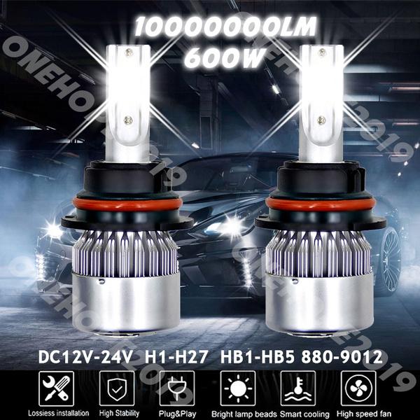 Set Xenon Hid Conversion Kit Bulb 55W 9003 H4 Bi-Xenon 6K For VW Transporter T5