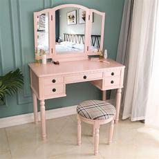 wooddesk, Beauty, Desk, Makeup