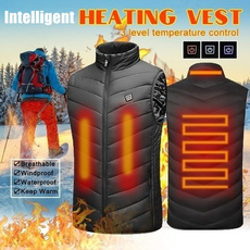 Casual Jackets, Vest, Outdoor, cottonvestcoat