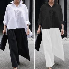 blouse, blouseshirt, Plus Size, Cotton