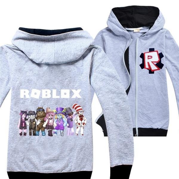 Roblox 3d Zipper Hoodies Boys And Girls Tracksuits Kids Children