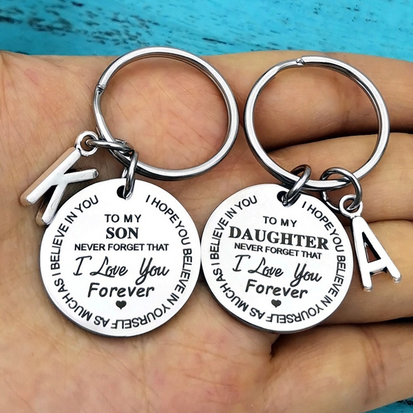 Key Chain, Gifts, christmasgiftsfordaughter, sonbirthdaygift