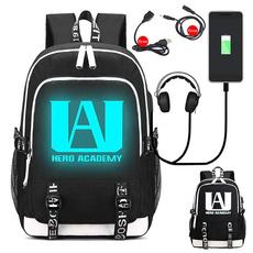 student backpacks, School, myheroacademia, Capacity