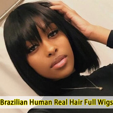 wig, Beauty Makeup, lacefronthumanhairwig, Straight Hair