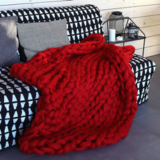 Blankets & Throws, plaid, knitted, handwoven