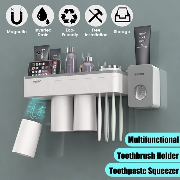 Magnetic Attraction Toothbrush Holder