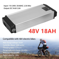 48V Volt Ebike Electric Bicycle Conversion Rechargeable Battery Pack 10Ah 480Wh