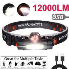 Flashlight, ledheadlamp, Outdoor, led