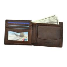 leather wallet, Vintage, Money, purses