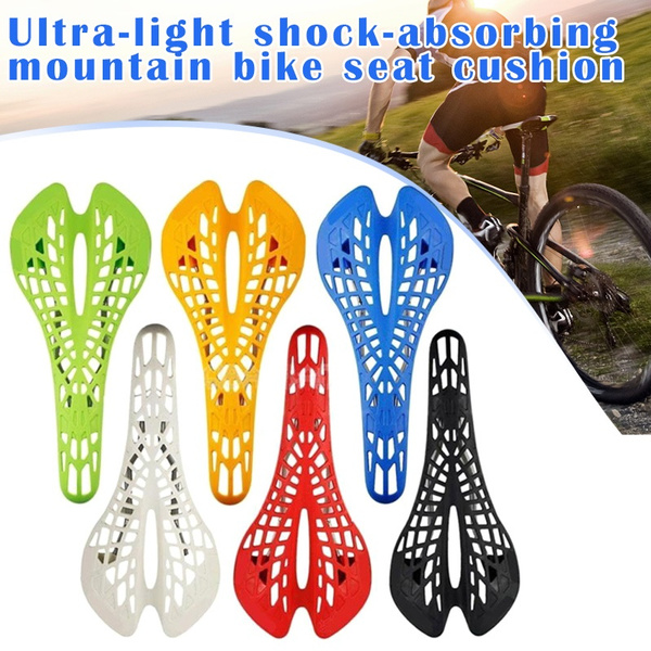 Universal Spider Web Cushion Mountain Bikes Shock Bicycles Racing Seat Saddle