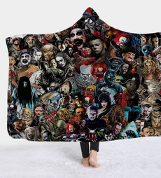 Fashion, Blanket, thickdoublelayerblanket, Print