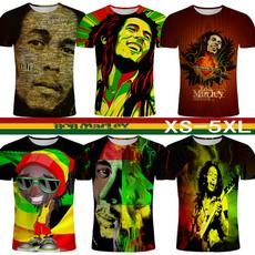 reggae, Funny T Shirt, men's short sleeve shirt, 3dprintedtshirt