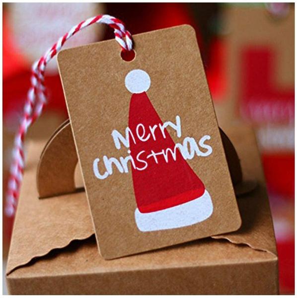 christmastag, christmaslabel, Fashion, scalloplabel